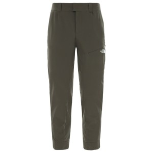 Pantaloni Drumetie Femei The North Face W Inlux Cropped Pant New Taupe Green (Kaki)