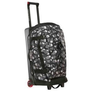 "Troller The North Face Rolling Thunder - 30"" 80L Tnf Black Label Toss Print/Tnf Black (Negru)"