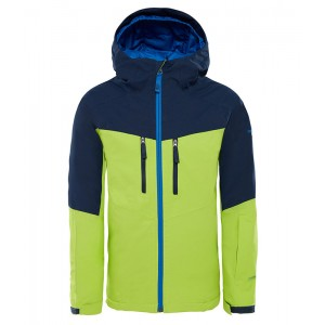 Geaca Baieti Ski si Snowboard The North Face Chakal Insulated Lime