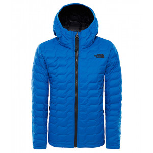 Geaca Baieti Hiking The North Face Thermoball Hoodie Albastru