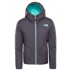 Geaca Fete Hiking The North Face Reversible Perrito Gri
