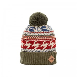 Caciula The North Face Fair Isle Verde / Multicolor