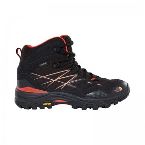 Ghete Femei Hiking The North Face Hedgehog Fastpack Mid GTX Negru