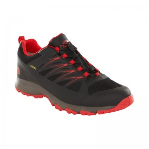 Incaltaminte Barbati Hiking The North Face Venture Fastlace GTX Negru / Rosu