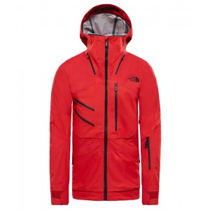 Geaca Barbati Ski si Snowboard The North Face Fuse Brigandine Rosu