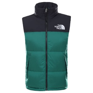 Vesta Puf Activitati Urbane Barbati The North Face M 1996 Retro Nuptse Vest Ever Green (Verde)