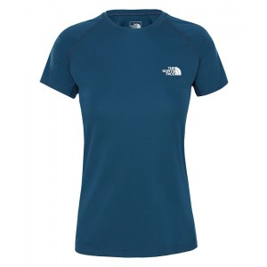 Tricou Femei Alergare The North Face Flex Bleumarin