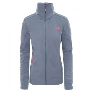 Geaca Femei Hiking The North Face Inlux Softshell Gri