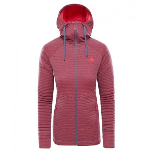 Bluza Mid-Layer Femei Hiking The North Face Hikesteller Mid Gri / Roz