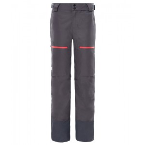 Pantaloni Femei Ski si Snowboard The North Face Powder Guide Gri