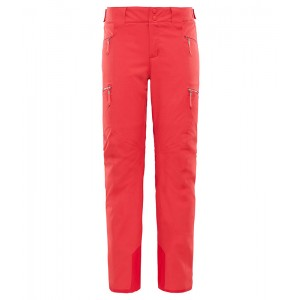 Pantaloni Femei Ski si Snowboard The North Face Lenado Roz