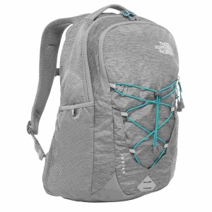 Rucsac The North Face Jester 29L Mid Gray Dark Heather/Fanfare Green (Antracit)