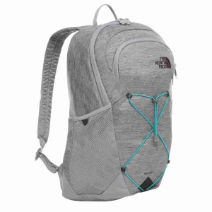 Rucsac The North Face Rodey 27L Mid Grey Dark Heather/Fanfare Green (Antracit)