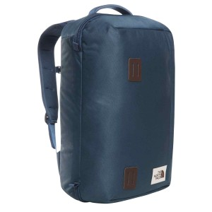 Rucsac The North Face Travel Duffel Pack 37L Blue Wing Teal/Barolo Red (Bleumarin)