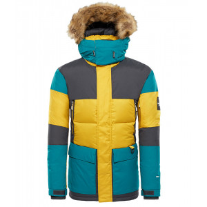 Geaca Barbati Hiking The North Face Vostok Parka Galben