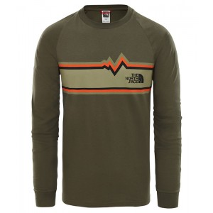 Bluza Barbati The North Face L/S Ones Verde
