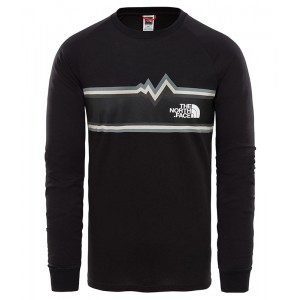 Bluza Barbati The North Face L/S Ones Negru