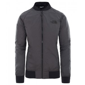 Bluza Mid-Layer Femei The North Face Co Mfy Insulated Bomber Gri