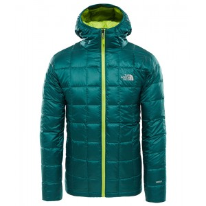 Geaca Barbati Hiking The North Face Kabru Hooded Down Verde