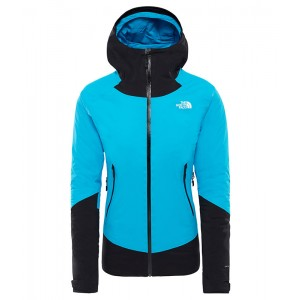 Geaca Femei Hiking The North Face Impendor Insulated Bleu / Negru