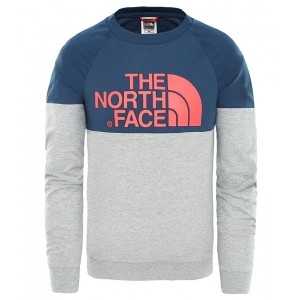 Bluza Copii The North Face L/S Easy Bleumarin