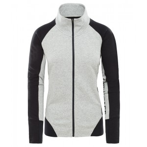 Bluza Mid-Layer Femei The North Face Train N Logo Full Zip Gri