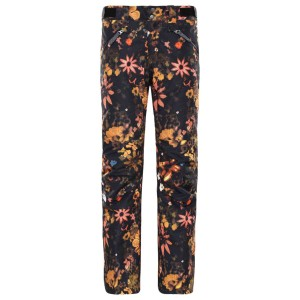 Pantaloni Ski Femei The North Face W Aboutaday Pant Tnf Black Flower Child Multi Print Regular (Multicolor)