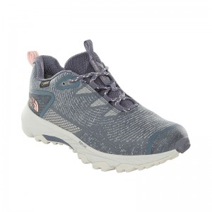Incaltaminte Femei Hiking The North Face Ultra Fastpack III Woven GTX Gri