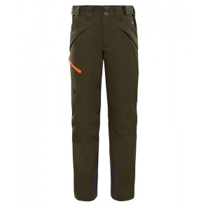 Pantaloni Baieti Ski si Snowboard The North Face Chakal Verde