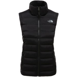 Vesta Drumetie Femei The North Face W Stretch Down Vest Tnf Black (Negru)