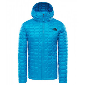 Geaca Barbati Hiking The North Face Thermoball Hoodie Albastru