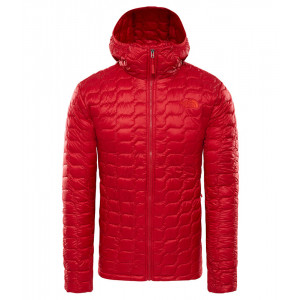 Geaca Barbati Hiking The North Face Thermoball Hoodie Rosu