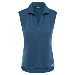 Tricou Femei Hiking The North Face Inlux Sleeveless Albastru