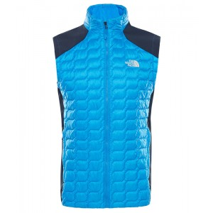 Vesta Barbati Hiking The North Face New Thermoball Hybrid Albastru