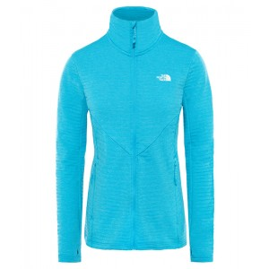 Polar Femei The North Face Impendor Full Zip Light Bleu