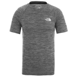 Tricou Drumetie Barbati The North Face M Impendor Seamless Tee Tnf Black White Heather/Tnf White (Negru)