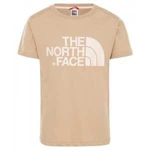 Tricou Fete The North Face Boyfriend Bej