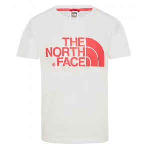 Tricou Fete The North Face Boyfriend Alb