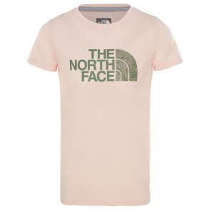 Tricou Fete Hiking The North Face Reaxion Roz Deschis