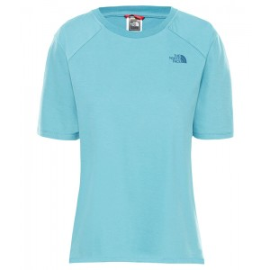 Tricou Femei The North Face Premium Simple Dome Albastru