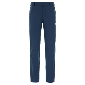 Pantaloni Drumetie Femei The North Face W Quest Pant Blue Wing Teal (Bleumarin)
