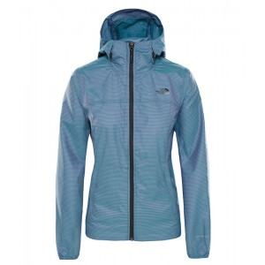 Geaca Femei Hiking The North Face Cyclone Printed Albastru