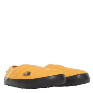 Papuci Barbati The North Face M Thermoball Traction Mule V Summit Gold/Tnf Black (Galben)