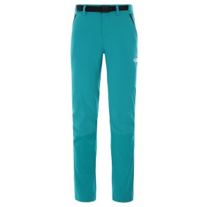 Pantaloni Drumetie Femei The North Face W Speedlight Ii Pant Fanfare Green (Turcoaz)