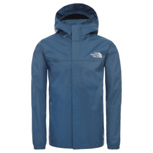 Geaca Drumetie Copii The North Face Boys Resolve Reflective Jacket Blue Wing Teal (Bleumarin)