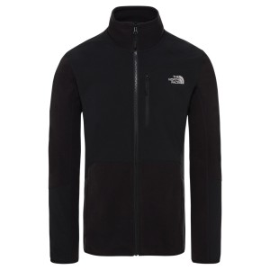 Polar Drumetie Barbati The North Face M Glacier Pro Full Zip Tnf Blk/Tnf B (Negru)