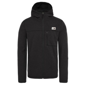 Polar Drumetie Barbati The North Face M Gordon Lyons Hoodie Tnf Black Heather (Negru)