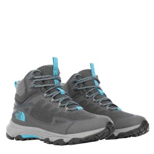 Ghete Drumetie Femei The North Face W Ultra Fastpack Iv Mid Futurelight Zinc Grey/Caribbean Sea (Gri)