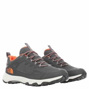 Pantofi Drumetie Barbati The North Face M Ultra Fastpack Iv Futurelight Zinc Grey/Persian Orange (Gri)