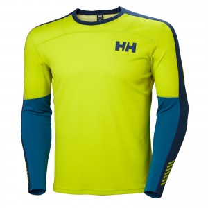 Bluza First Layer Barbati Helly Hansen Hh Lifa Active Crew Verde